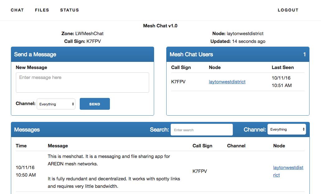 2c8002196d Mesh Chat  Messaging for AREDN mesh networks – Trevor s Bench