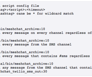 Mesh Chat Action Scripts
