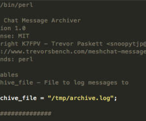 Message Archiver – Mesh Chat Action Script