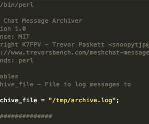 Message Archiver – Mesh Chat Action Script